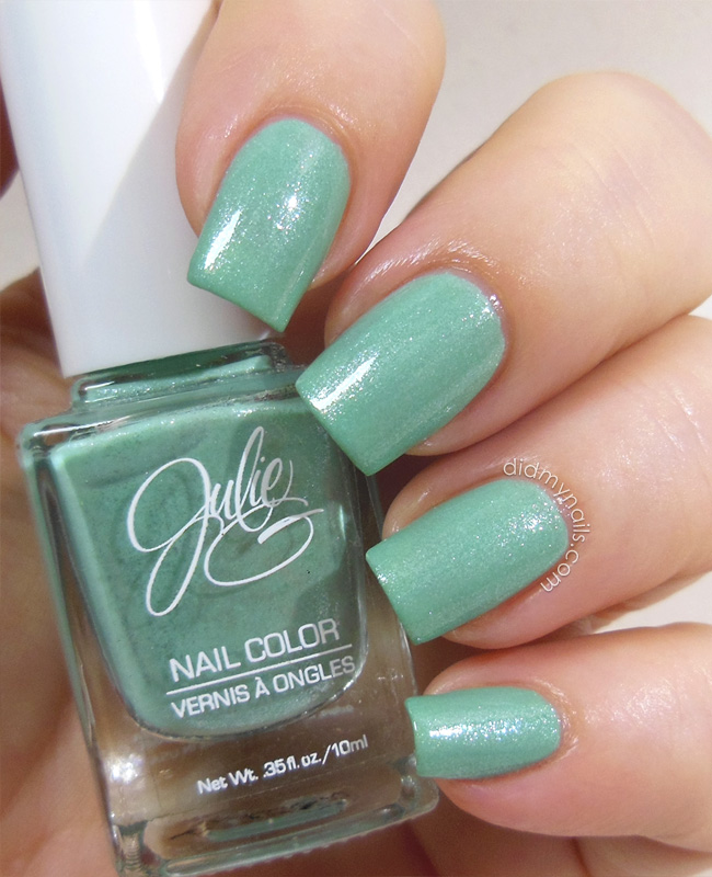 Julie G Shark's Cove swatch