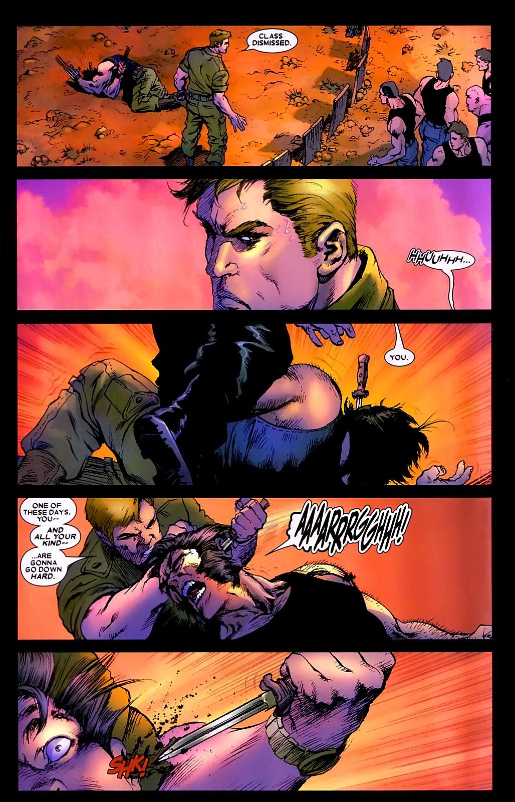 Read online Wolverine (2003) comic -  Issue #34 - 24