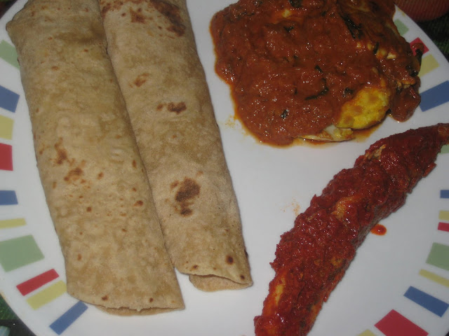 BUTTER EGG MASALA