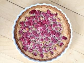 The Nerdy Chef: Raspberry Walnut Tart