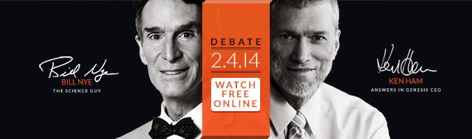 Ken Ham, Bill Nye, creationism, creation science, evolution, education