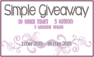 Simple Giveaway By Nina dan Hani