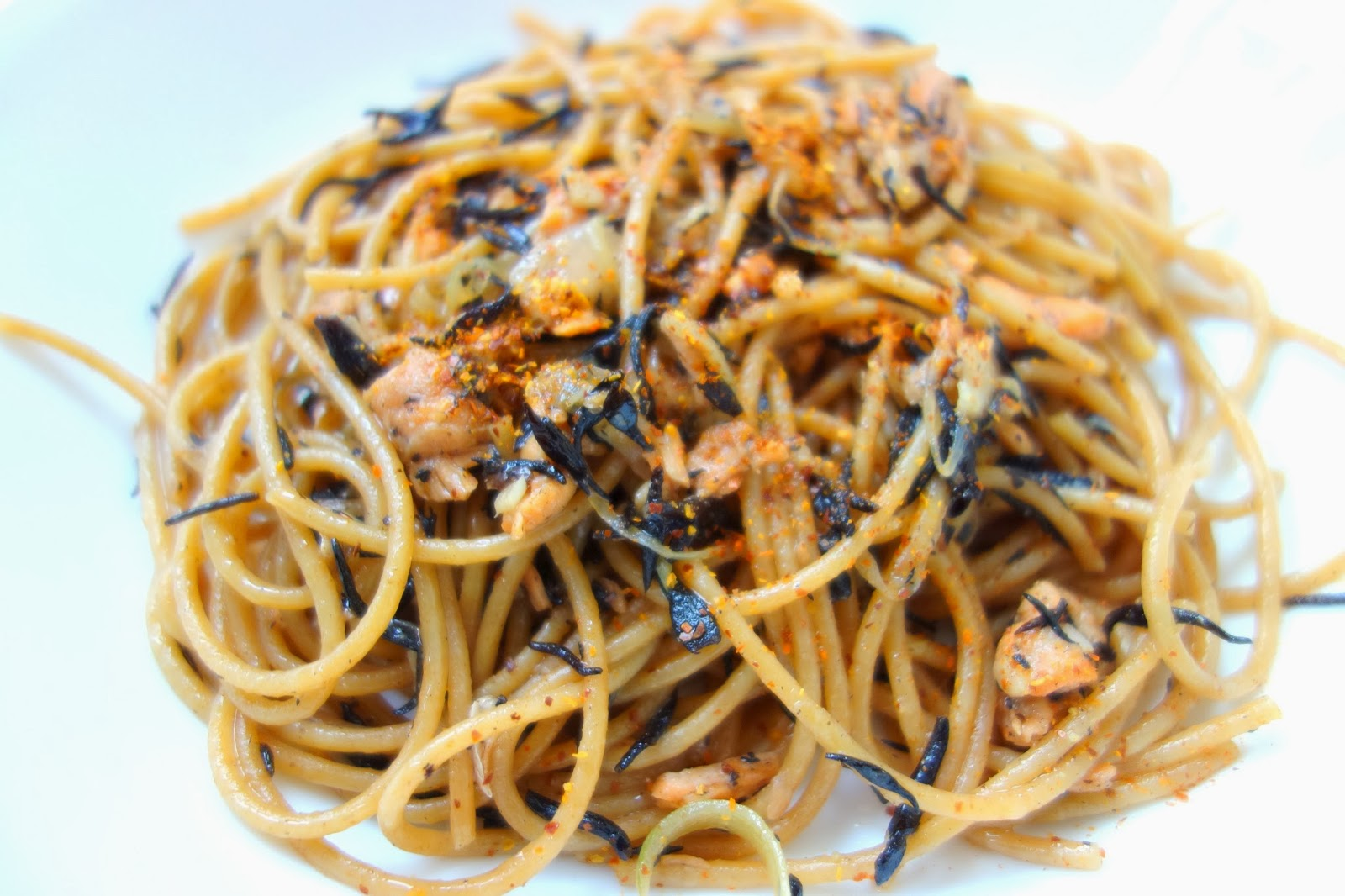 Pasture Living Recipe Salmon And Hijiki Seaweed Pasta
