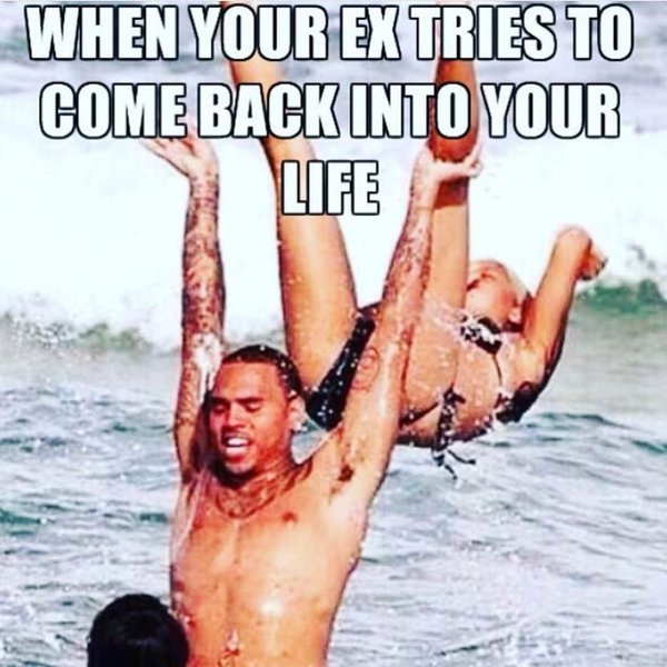 #divorce #ex #exgirlfriend- when your ex tries to come back into your life