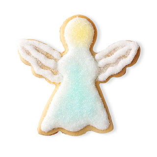 image angel cookie biscuit christmas