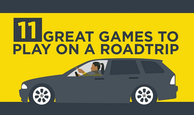 11 Great Games to Play On A Roadtrip
