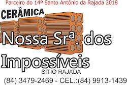 CERÂMICA NOSSA Srª DOS IMPOSSÍVEL: Povoado Rajada