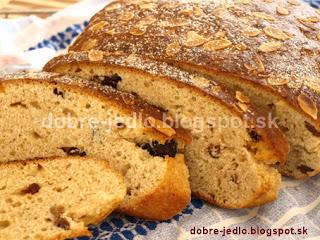 Tvarohový chlebík s mandľami - recepty