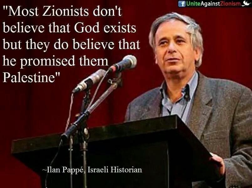 Israeli historian Ilan Pappe'