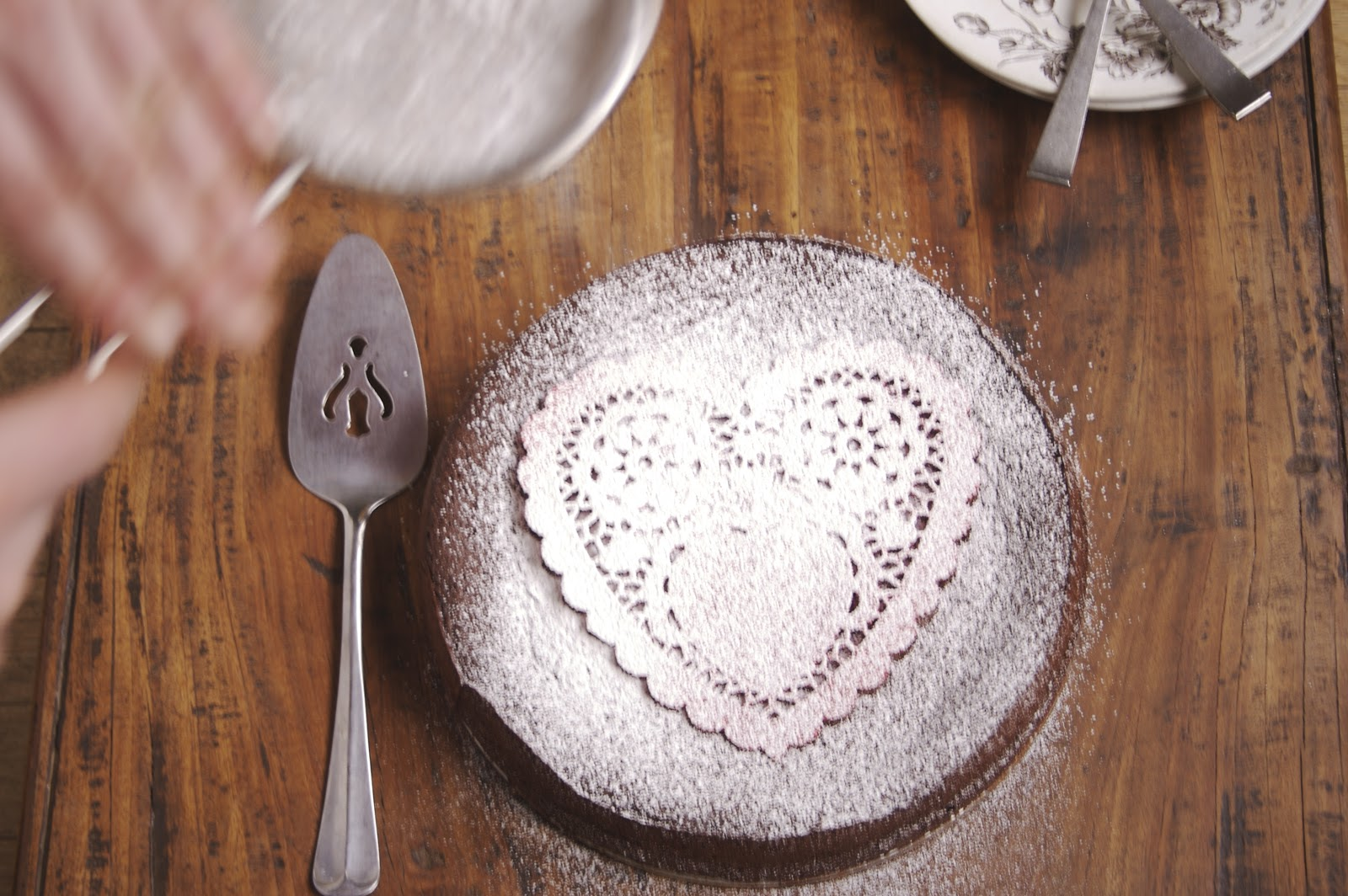 A Full Life: Flourless Chocolate Cake for Valentine's Day