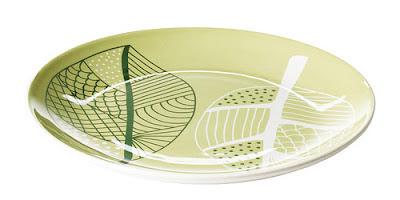 IKEA, talerz, ikea talerz, ÖVERENS, zielony