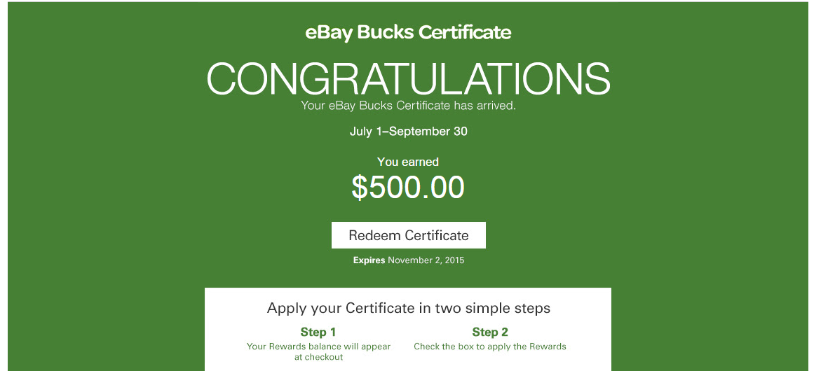 Orens Money Saver Ebay Bucks Have Arrived 2 Deals To Unlock Good
