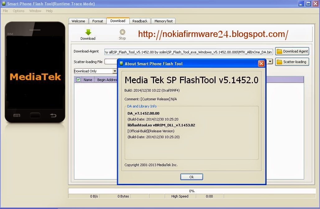 SP Flash Tool Windows