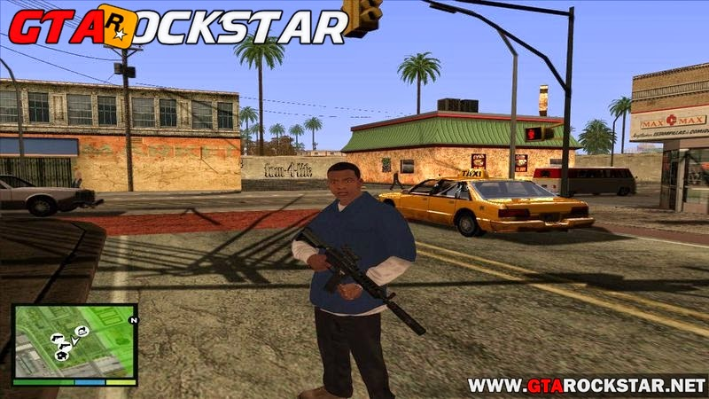 GTA SA - Gráficos do GTA V para GTA San Andreas