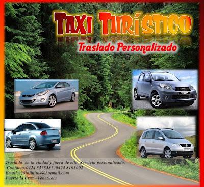 imagen Taxi Turìstico Traslado Personalizado