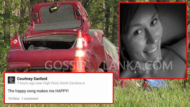 Woman Dies in Car Crash While Posting On Facebook About The Song 'Happy,' Taking Selfies