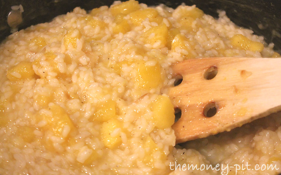 Butternut Squash Risotto with Parmesan and Allspice - The Kim Six Fix