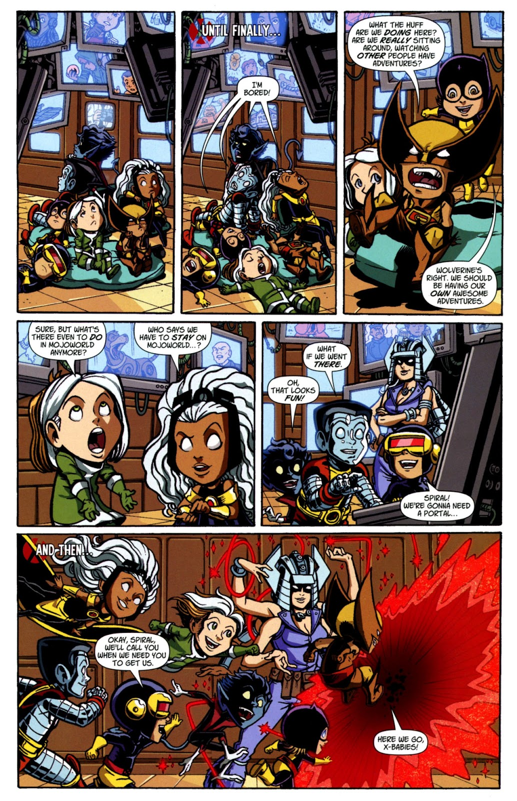 Read online X-Babies comic -  Issue #4 - 22