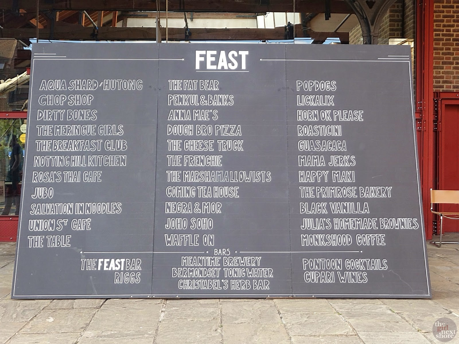 FEAST 2014: Food Festival @ Tobacco Docks, London