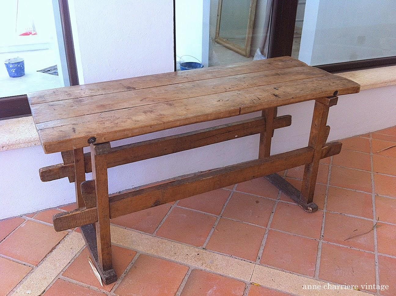 anne charriere vintage, encerado mesa, Ana y Cristina Calderón, Bilbao,