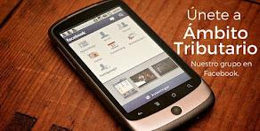 Únete a ámbito Tributario en Facebook