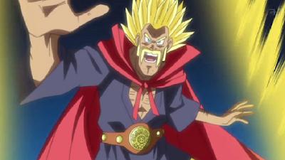 mr Satan Super Saiyan