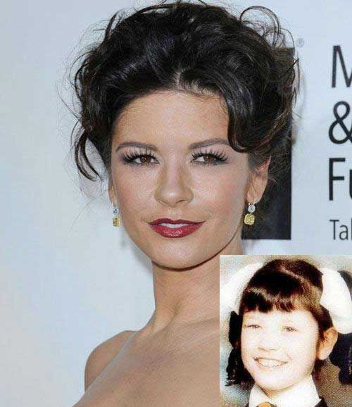 Childhood Pictures of Catherine Zeta Jones