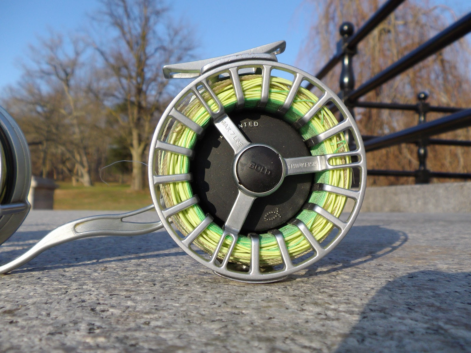The best semi automatic fly reels the great lakes of nyc for Automatic fishing reel