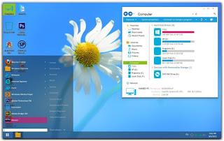 Cara Mengganti Tampilan Pada Windows 7 Anda Menjadi Serasa Windows 8