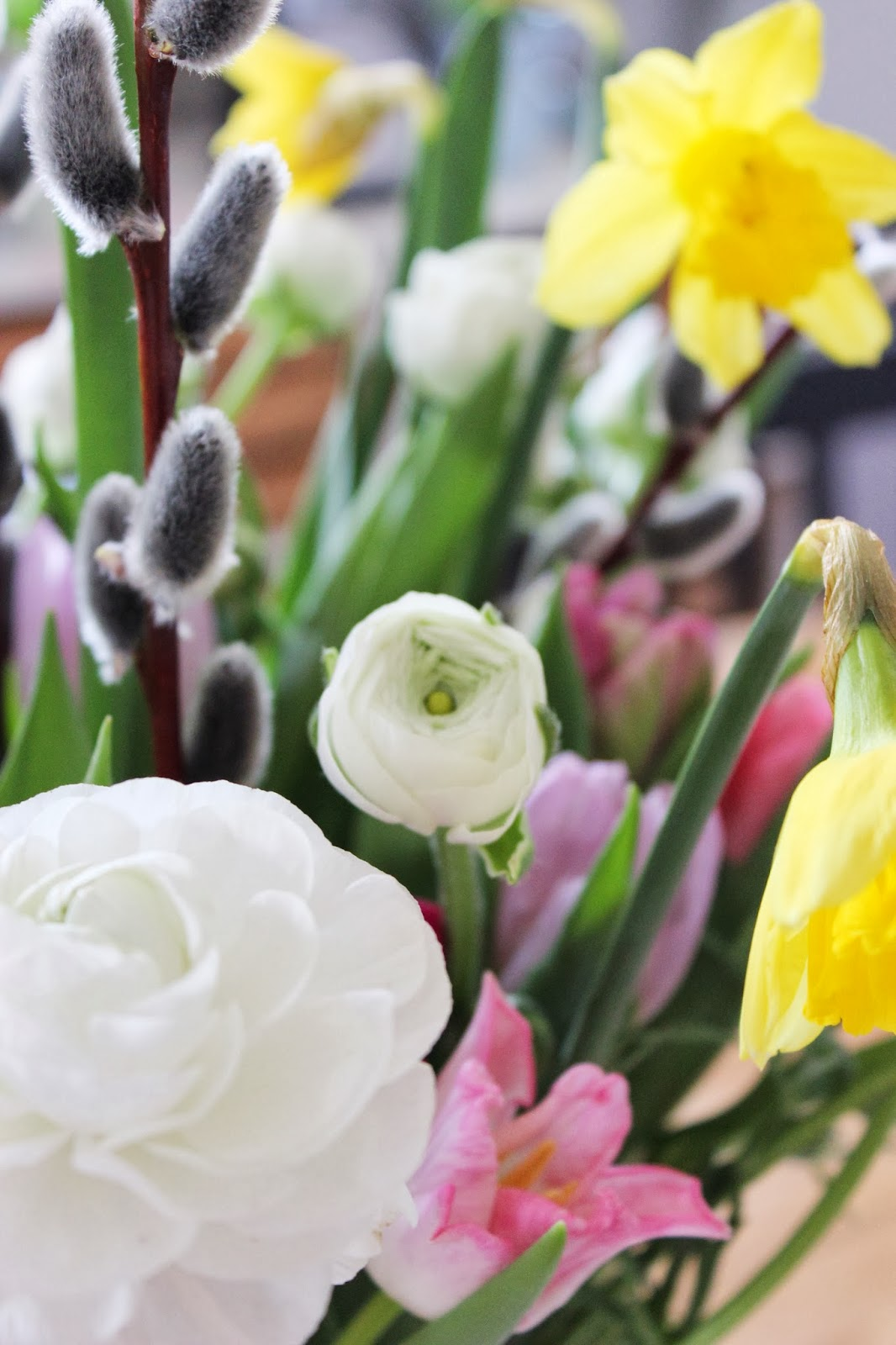 s'Bastelkistle: Der Frühling ist eingezogen