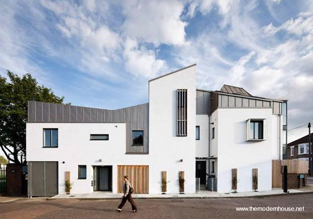Residencia contemporánea en el Reino Unido
