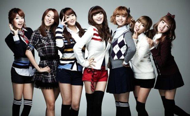 Personil Girlband Korea Tercantik - Rainbow