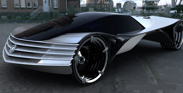 Concept Car Cadillac World Thorium Fuel Concept