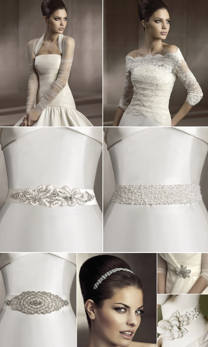 Pronovias wedding sash belt accessories for Where to buy wedding accessories