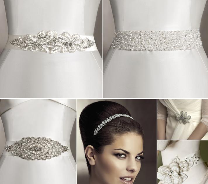 Pronovias Wedding Sash Belt Accessories