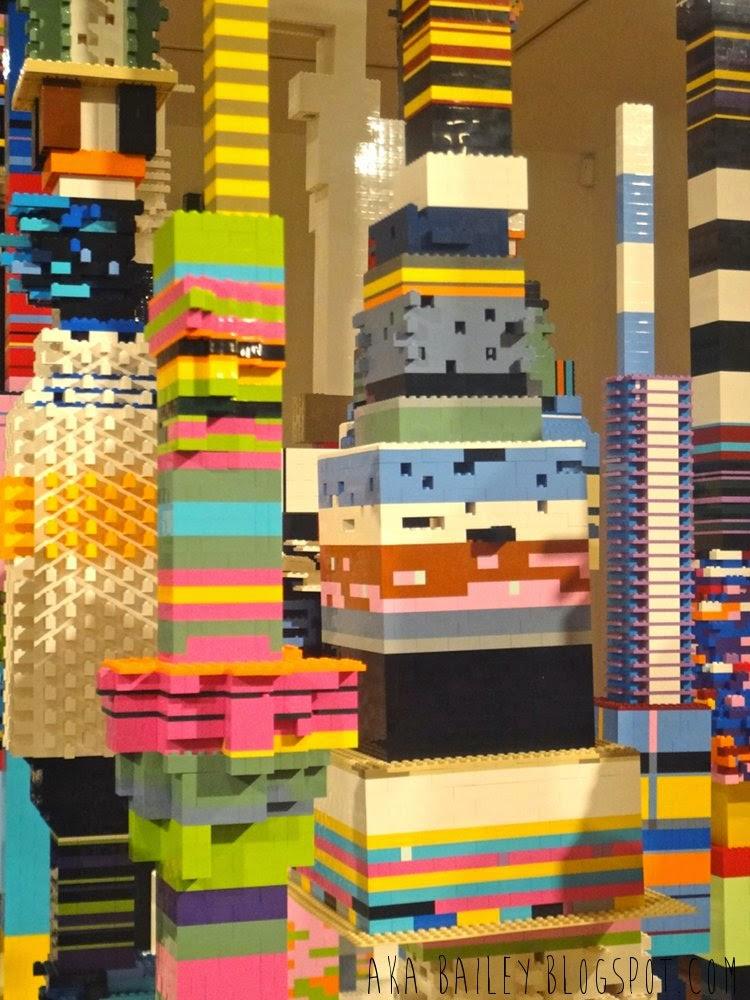 Douglas Coupland, Lego city towers