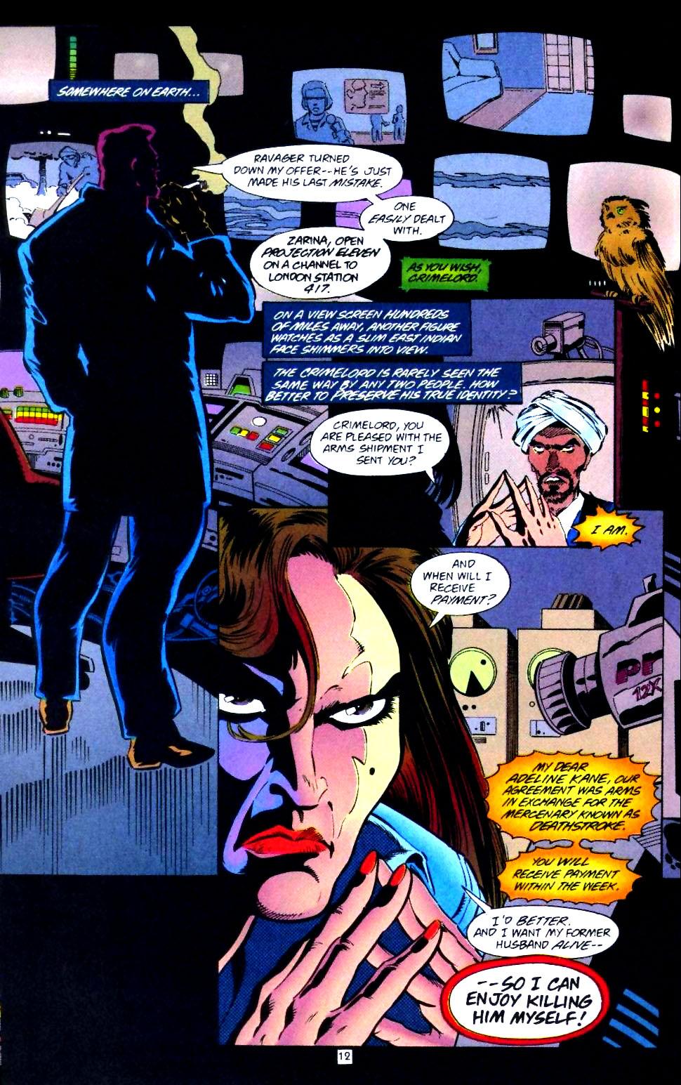 Deathstroke (1991) Issue #43 #48 - English 13