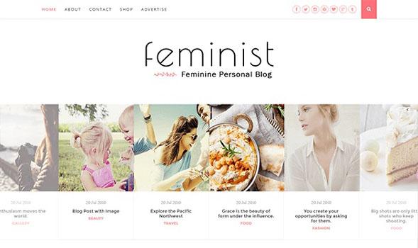 Feminist-Blogger-Template
