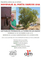 Homenaje al poeta Marcos Ana