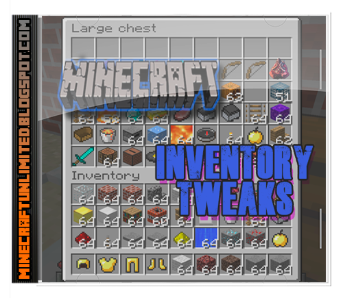 Inventory Tweaks Mod Minecraft