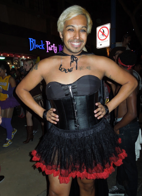 West Hollywood Halloween Carnaval drag