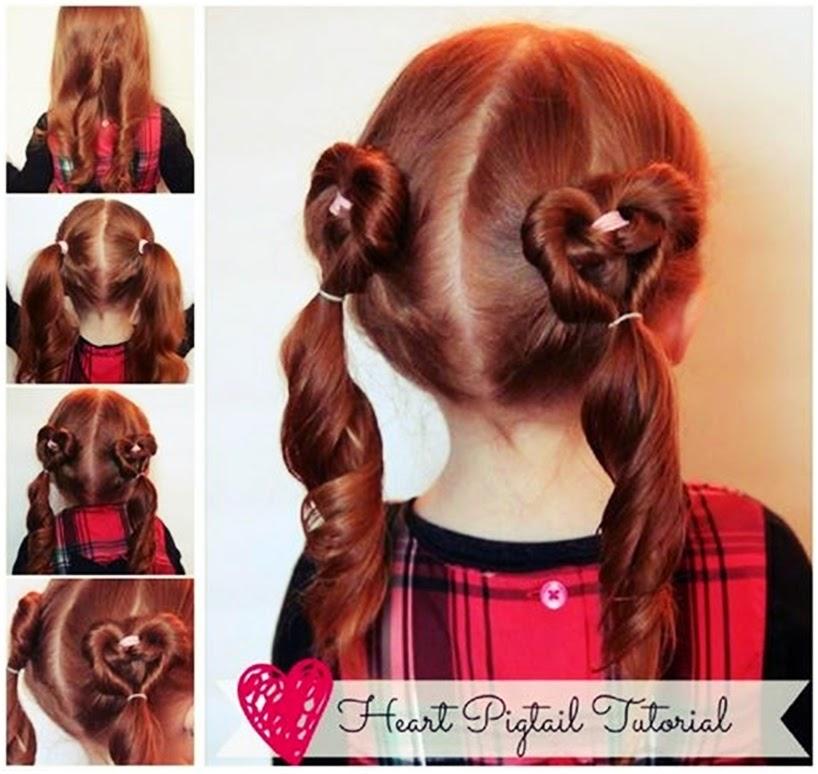 Прическа на волос средней длины для детей