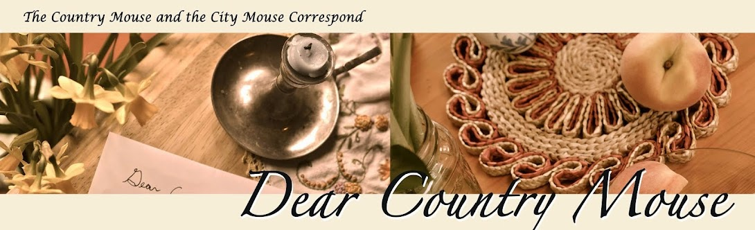 Dear Country Mouse