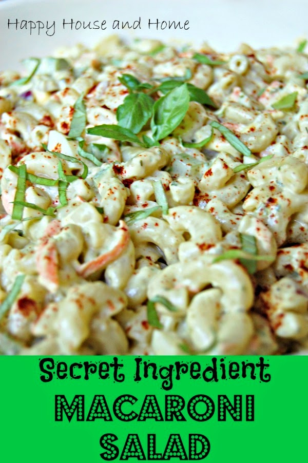 macaroni salad, summer recipe