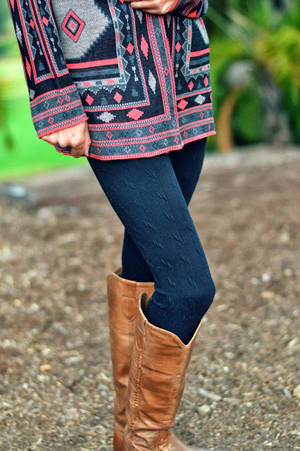 Mommy Testers, Aztec sweater jacket, get the look, look for less, 2103 fashion trends, searsStyle #ThisisStyle #shop #cbias