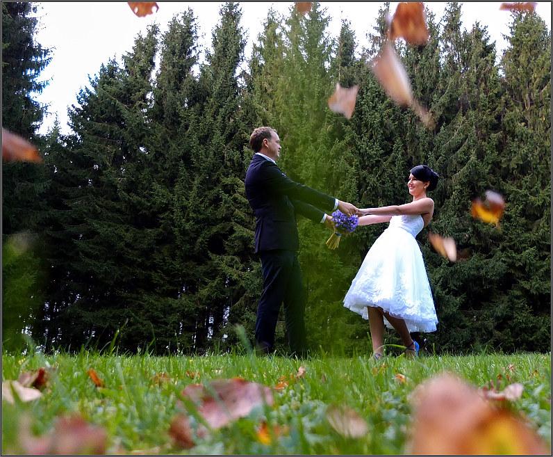 vestuvės rudenį