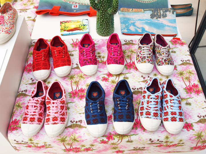 tennis Bensimon X Paco Chicano collaboration