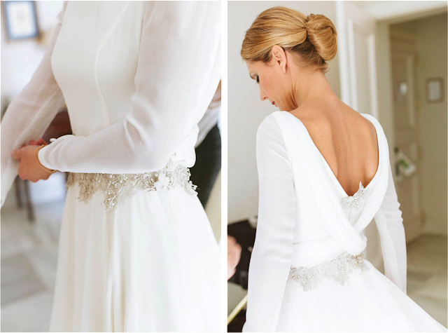 Vestido de novia de Tere Torres
