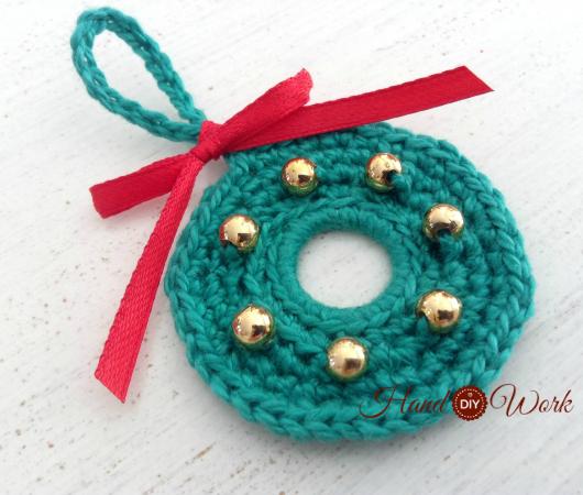 prepara t misma adornos de navidad a crochet
