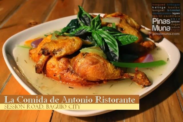 La Comida de Antonio Ristorante, Baguio City